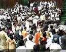 Lok Sabha adjourned over Assam, black money