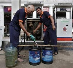 India's diesel price dilemma - making the rich pay more