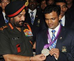 Army for making Oly medalist Vijay Kumar an officer