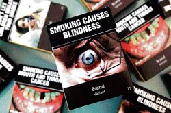 Cigarettes in Australia to carry shock images