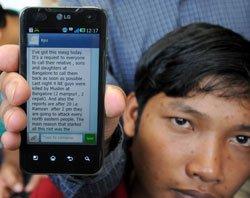 Mischievous text messages on NE people doing rounds in Delhi