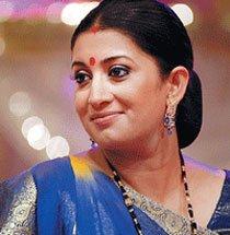 Smriti Irani lends voice for radio drama on Krishna