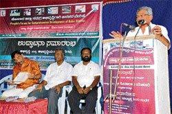 'Economic growth is not true development'
