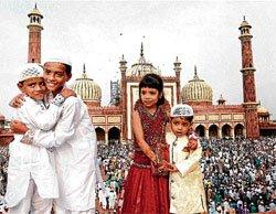 Capital celebrates Eid with fervour