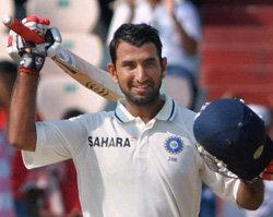 Pujara answers India's call