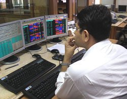 Sensex closes 55 points down, realty, banking stocks lower