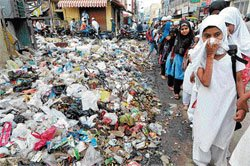 Students learn cleanliness lesson hard way