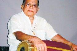 Master of mridangam