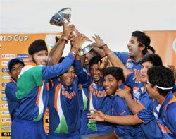 India win U-19 World Cup as Chand-Patel overpower Australia