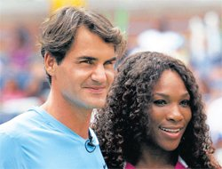 Federer, Serena in spotlight