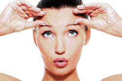 Face yoga for losing wrinkles