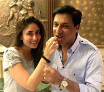Kareena's birthday surprise for Bhandarkar