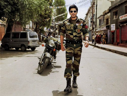 Shah Rukh begins shooting for his first movie in Kashmir