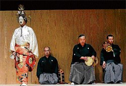 Saying yes to Noh theatre from Japan