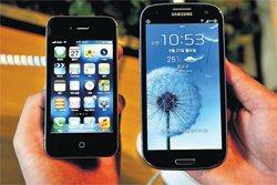 Smartphone biggies get into patent wars