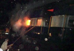 Crackers in TN Express bogie led to fast spread of fire: Report