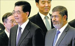 Morsi's Syria peace plan opens new possibilities
