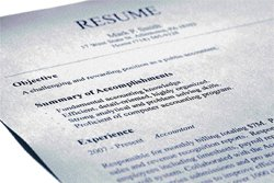 The art of writing a resume