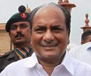 Be liberal with jawans' leave: Antony to army officers