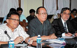 Minority leaders pour  out their woes at meet