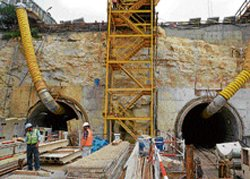 Makeover for Metro station