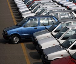 Car sales slide 19% to 10-month low