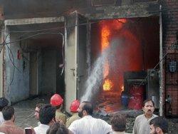 Pak factory fires claim 314 lives