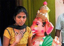 Now, MCC cracks whip for eco-friendly Ganesha