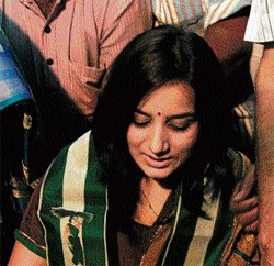 Pooja Gandhi may be asked to quit JD(S)