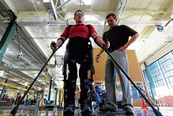 Robotic devices help the disabled get going