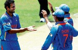 Pathan shines as India post facile victory