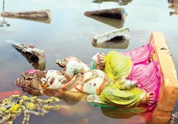 98 per cent of 5 lakh idols sold end up in lakes