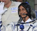 Sunita takes over command at space station