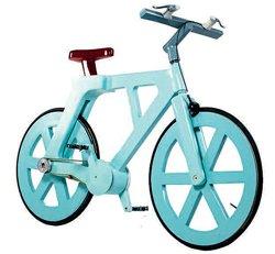 Waterproof cardboard bike costs 10 to make