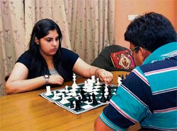 'I'll prove myself a good chess player'