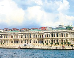 Yesteryear seat of Ottoman power; now a hotel