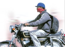 Helmet is for safety, not style