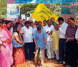 Save Lakshmanatheertha campaign begins