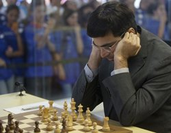 Anand held by Vallejo Pons in Chess Masters opener