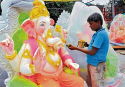 Ganesha goes greener by the year