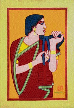 Kalighat style revived