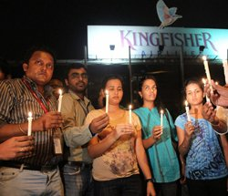 Kingfisher staff protest as partial lock-out is extended