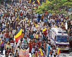 Rallies, protests choke City