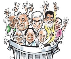 Third front ambitions rise