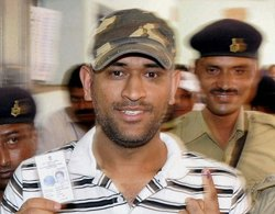 MS Dhoni skips Territorial Army Day parade