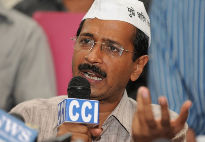 Kejriwal questions Haryana's clarification on land sale