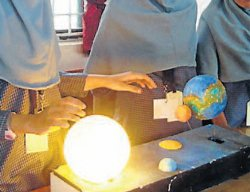 Budding young scientists showcase their skills