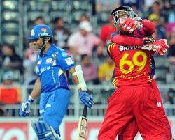 Little-known Phangiso celebrates Tendulkar's wicket all night
