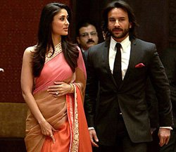 Celebrities come to wish Saif-Kareena at pre-wedding party