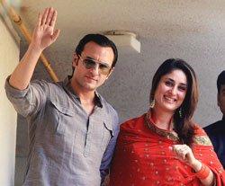 Saif, Kareena have a small, slim Indian wedding